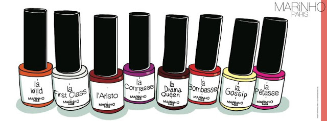Marinho Paris les Vernis semi permanents so trendy !