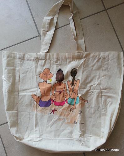 Tote Bag Kanako My Little Box Juillet 2013