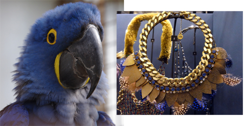 Bijoux Tendances Automne 2013 Ara Bleu & collier FL Private Collection