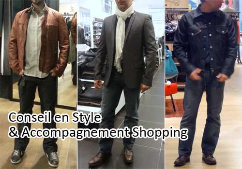 Conseil en style & accompagnement shopping hommes lyon