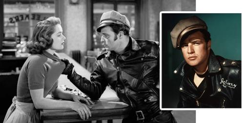Conseils style personal shopper histoire du perfecto Marlon Brando 1954