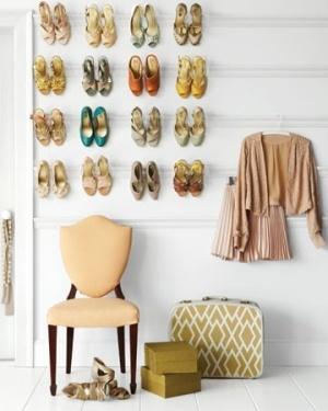 Dressing de rêve Conseils organisation penderie tringle à chaussures