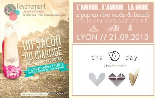Affiches nouveaux salons du mariage