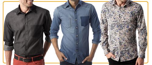 Chemises Promod Hommes