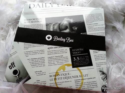 Darling Box surprises amoureux réveil octobre 2013