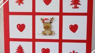 Carte de Voeux Fait-Main Fêtes de Fin d'année Noël&