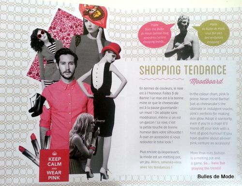 Moodboard Tendance Shopping Bulles de mode pour My Presqu'île (1)