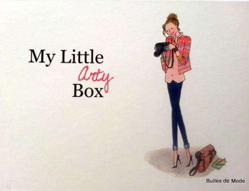 My Little Box Arty d'octobre, en retard ! (+ Concours Fermé)