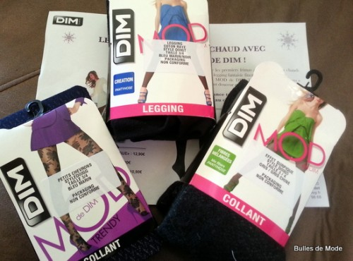 Mod de Dim Leggins et collants en laine