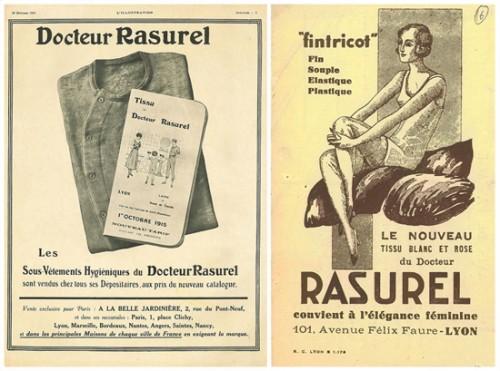 Lingerie Maison Lejaby Histoire Rasurel