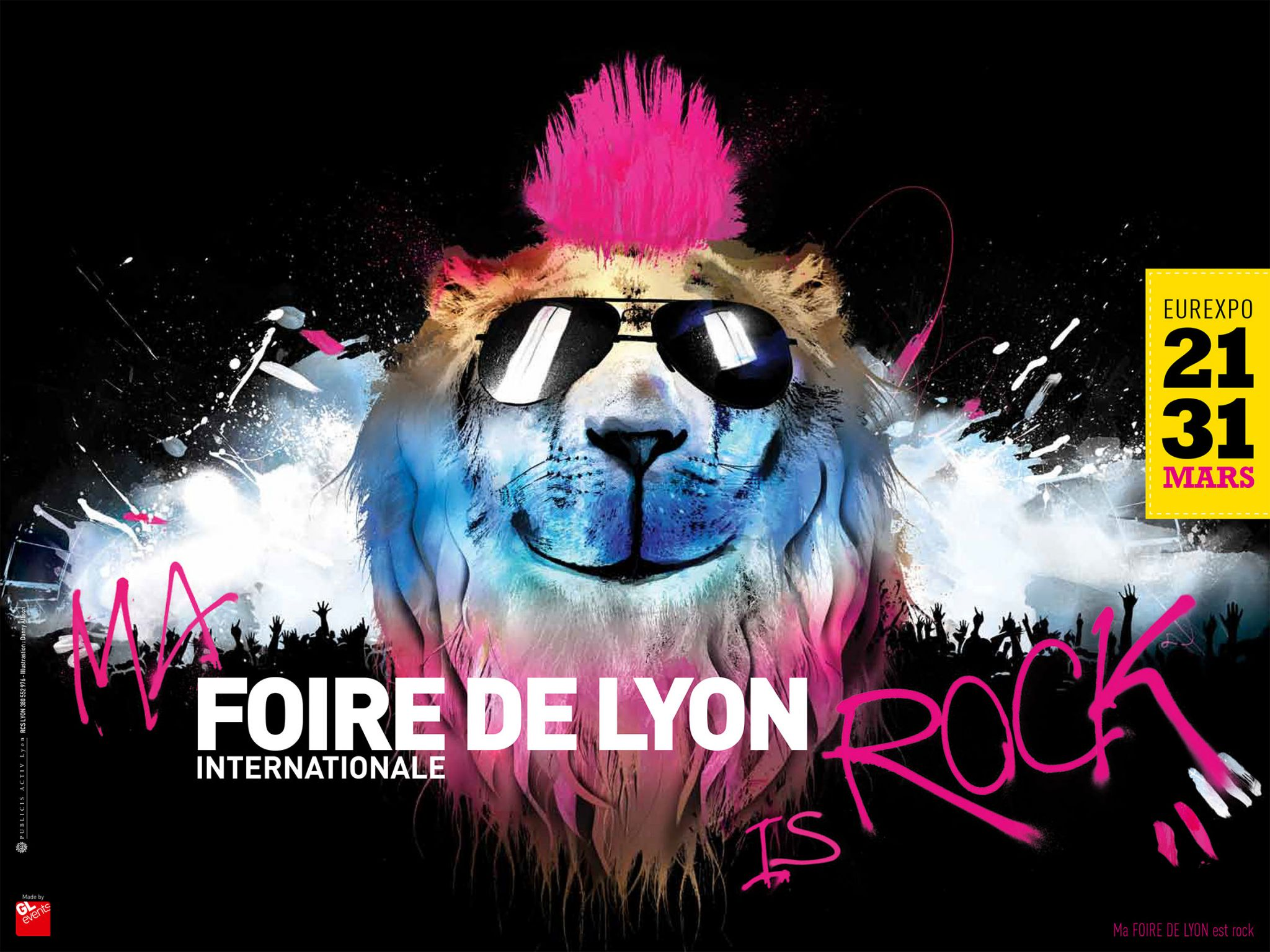 Foire de Lyon 2014 Rock Philippe Manoeuvre