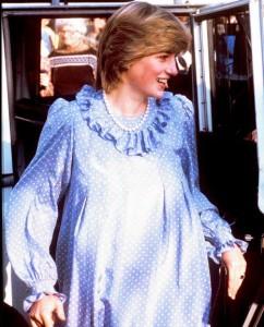 Lady Diana Enceinte 80s
