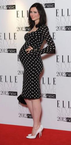 Robe moulante Enceinte Sophie Ellis Bextor