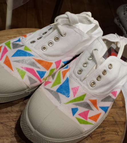 Customisation Bensimon idée par Eusébie