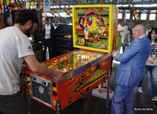 Flippers et jeux d'arcade vintage