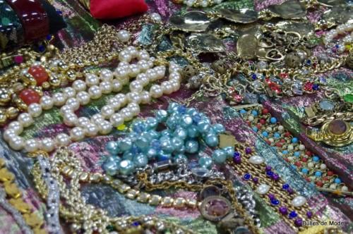 Le collier de perles en toc bijoux vintage - Blog Mode Lyon
