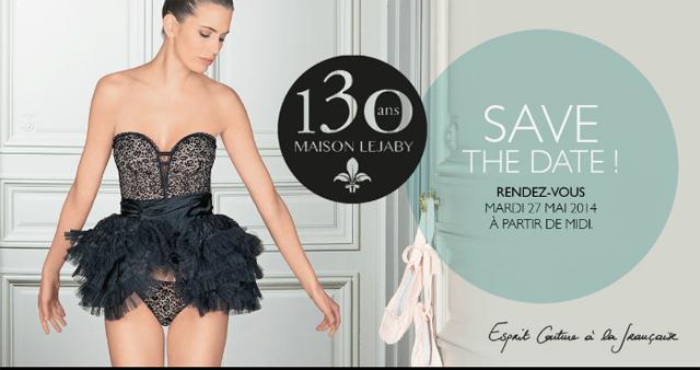 Maison Lejaby 130 ans Lingerie Couture