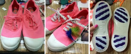 Mes Premières Bensimon sont roses ! Blog Mode Lyon