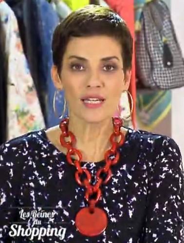 Cristinaca Cordula dans les Reines du Shopping M6