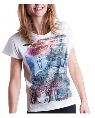 Les Lumières de la Pluie T Shirt coton bio Venise