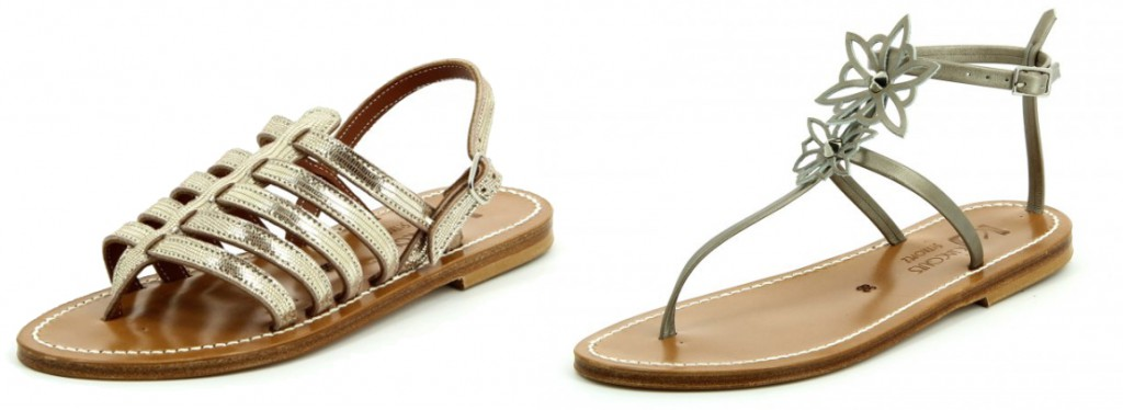 Sandales Nu-pieds K Jacques Saint Tropez