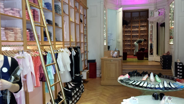 Boutique Repetto chaussons danse Lyon (11)
