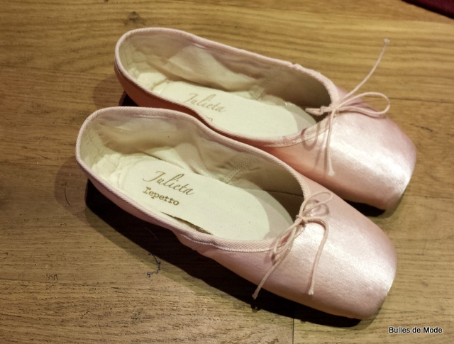 beaucoup de styles faire les courses pour joli design Comme une ballerine chez Repetto... - Bulles de mode