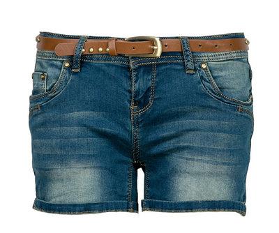 Short Jean délavé Mim soldes été tendances 2014