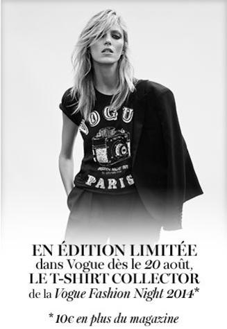 TShirt Vogue Fashion's Night Out 2014