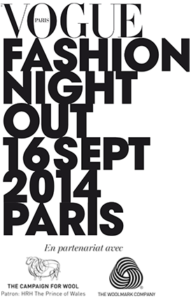 Vogue Fashion's Night Out Logo