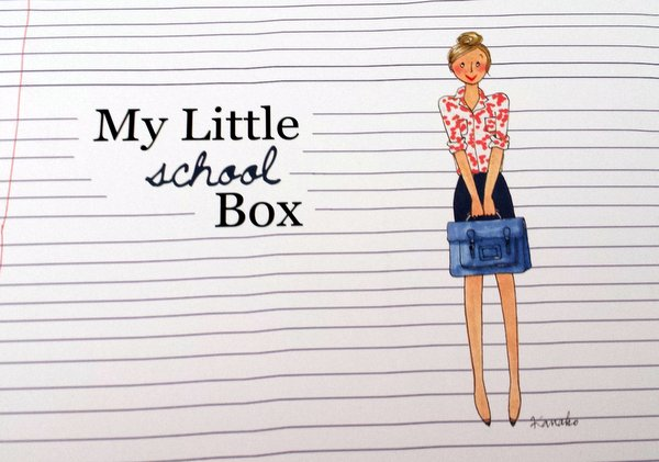 My Little Box Back To School Septembre 2014