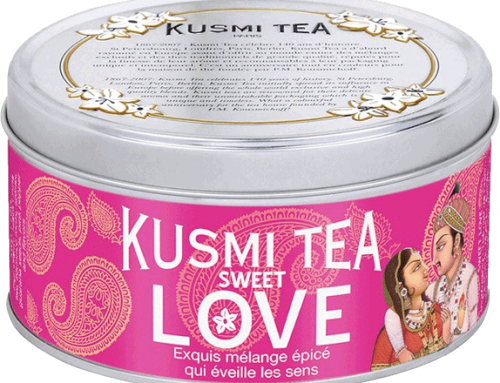 Peace & LOVE Kusmi Tea & Happy Birthday Nars !