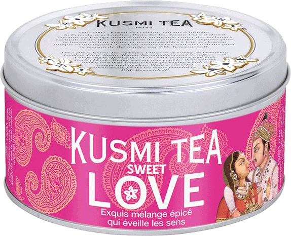 Kusmi Tea thé sweet love épices