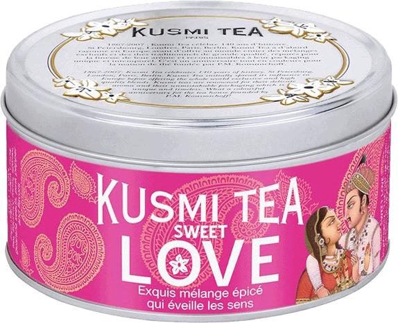 Kusmi Tea thé sweet love épices