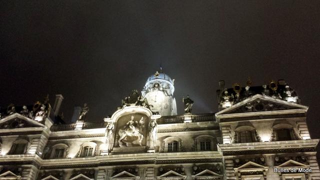 Hôtel de Ville Lyon Brume