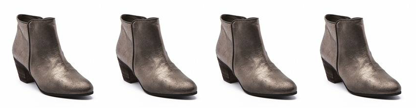 Bottines-bronze