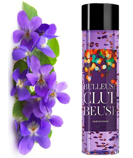 Clubbeuse Gel Douche Etam Beauté Violette