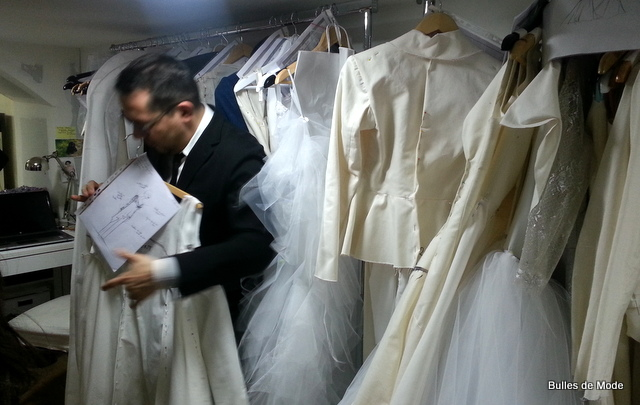 Robe Mariée Nicolas Fafiotte Haute Couture