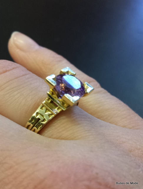 Bague French Kiss Philippe Tournaire