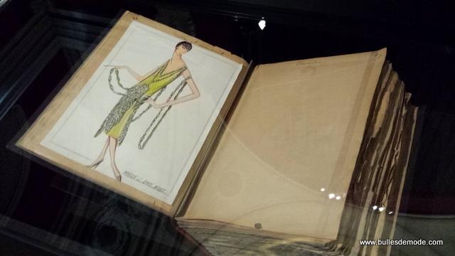 Croquis Jeanne Lanvin Expo Galliera Paris