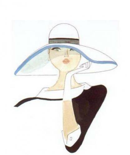 Kiraz Parisienne Chic Chapeau