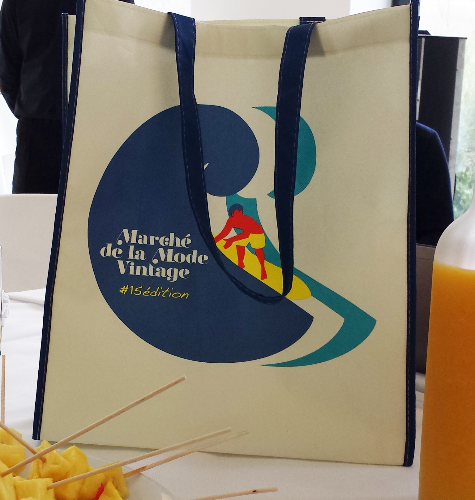 Marché Mode Vintage Lyon 2015 Shopping bag collector