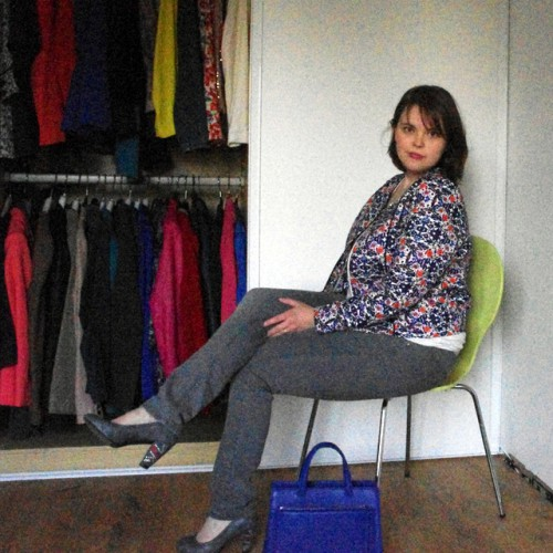 Blog Mode Lyon Look Jean Gris