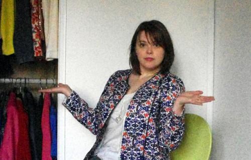 Conseils porter veste imprimée Blog Mode Lyon Look