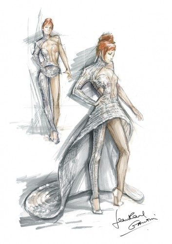 Costume Mylène Farmer JPG