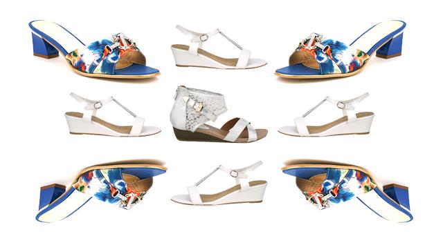 Cendriyon chaussures tendance été
