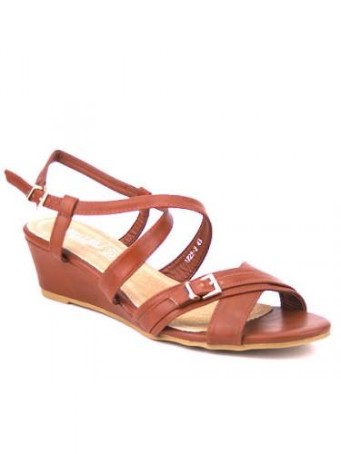 Sandale brides marron Cendriyon
