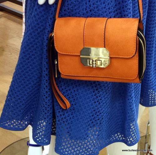 Blog Mode Lyon Besace orange Galeries Lafayette