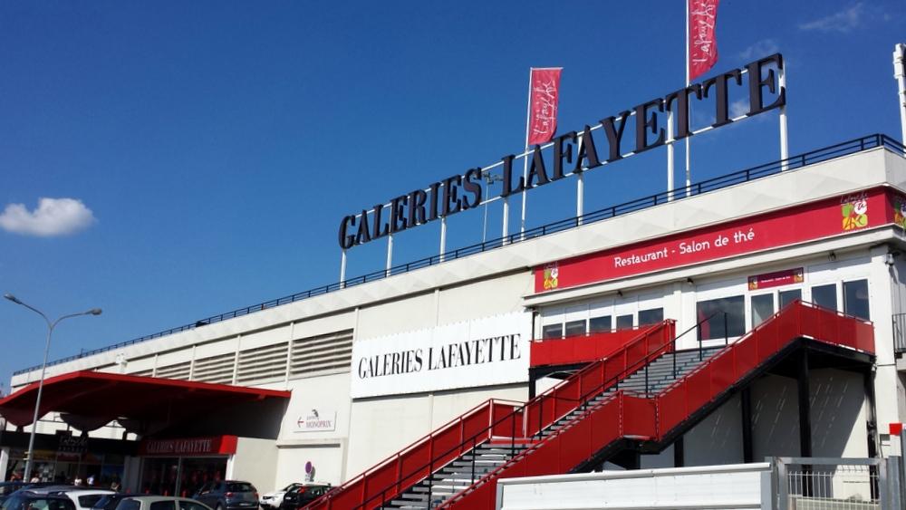 Galeries Lafayette Lyon Bron