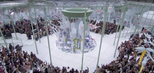 Chanel Haute-Couture Eté 2015 Jardin fleuri